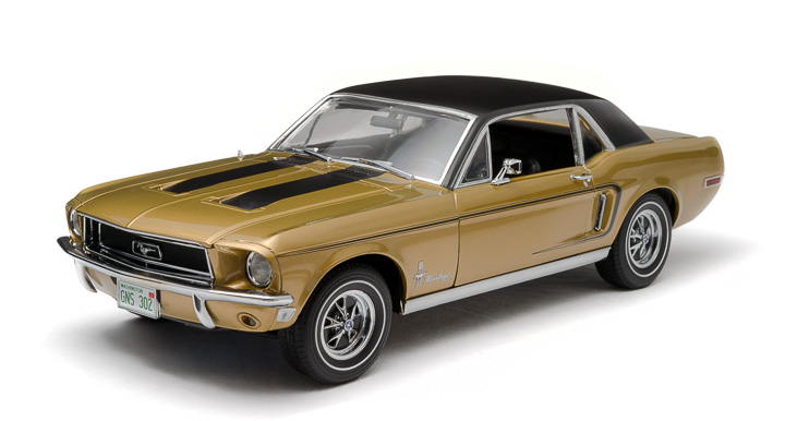 1:18 1968 Ford Mustang Coupe