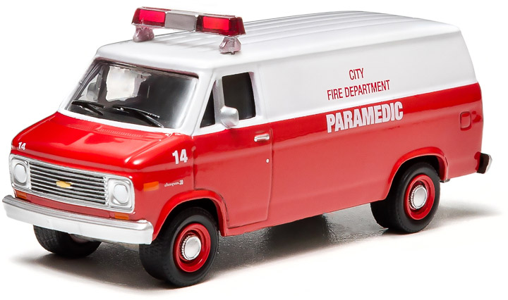 City Fire Department Paramedic (Hobby Exclusive)