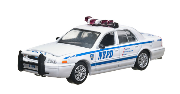 2008 Ford Crown Victoria Police New York City Police Dept (NYPD)