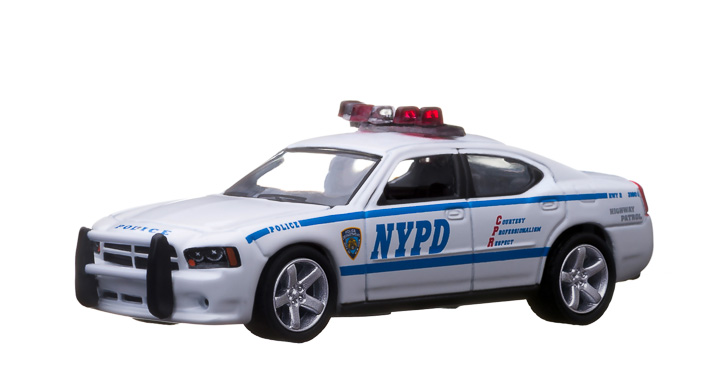 2009 Dodge Charger New York City Police Department (NYPD) w/vector 3