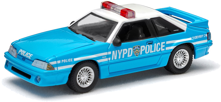 1987 Ford Mustang New York City Police Dept. (NYPD) Solid Pack