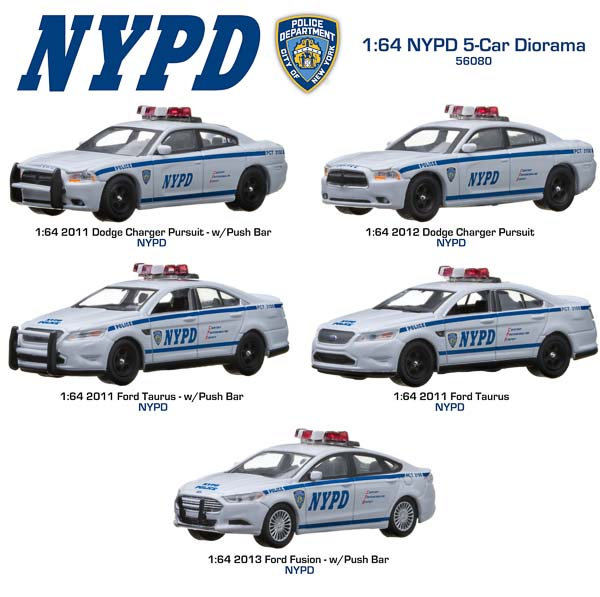 New York City Police Department Nypd Greenlight Collectibles