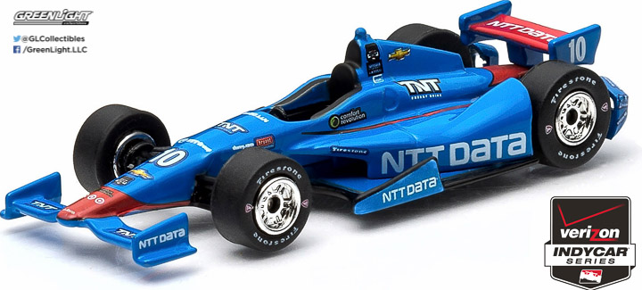 10736 - 1:64 2015 #10 Tony Kanaan / Chip Ganassi Racing, NTT DATA - 2015 #10 Tony Kanaan / Chip Ganassi Racing, NTT DATA