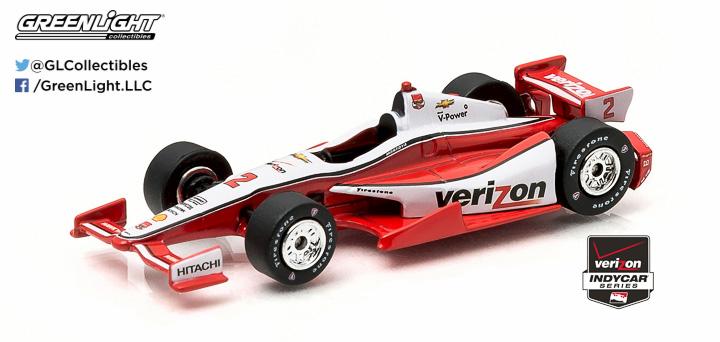 10738 - 1:64 2015 #2 Juan Pablo Montoya / Penske Racing, Verizon - 2015 #2 Juan Pablo Montoya / Penske Racing, Verizon