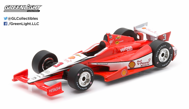 10741 - 1:64 2015 #3 Helio Castroneves / Penske Racing, Shell - 2015 #3 Helio Castroneves / Penske Racing, Shell