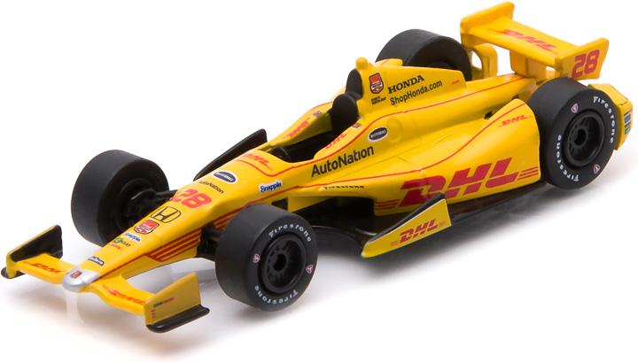 10743 - 1:64 2015 #28 Ryan Hunter-Reay / Andretti Autosport, DHL - 2015 #28 Ryan Hunter-Reay / Andretti Autosport, DHL