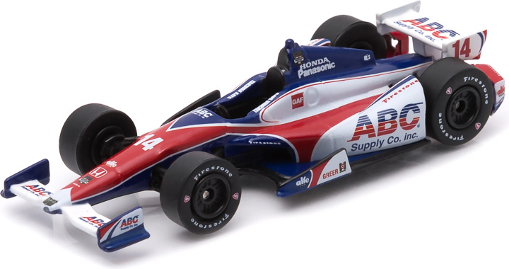 10744 - 1:64 2015 #14 Takuma Sato / A.J. Foyt Enterprises, ABC Supply - 2015 #14 Takuma Sato / A.J. Foyt Enterprises, ABC Supply