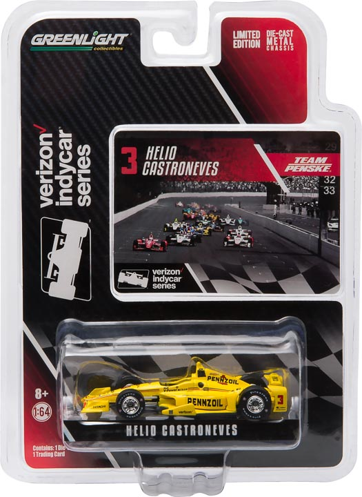 10753 - 1:64 2016 #3 Helio Castroneves / Penske Racing, Pennzoil (New IndyCar Tooling) - 2016 #3 Helio Castroneves / Penske Racing, Pennzoil (New IndyCar Tooling)