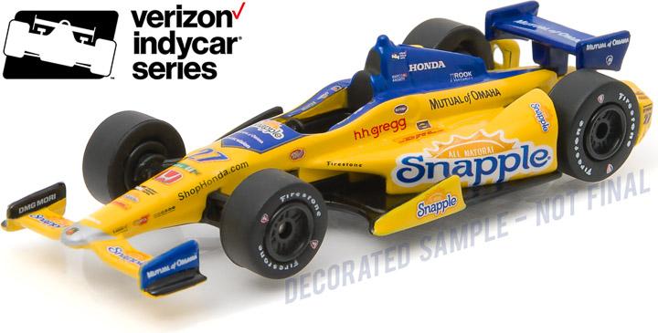 10763 - 1:64 2016 #27 Marco Andretti / Andretti Autosport, Snapple - 2016 #27 Marco Andretti / Andretti Autosport, Snapple