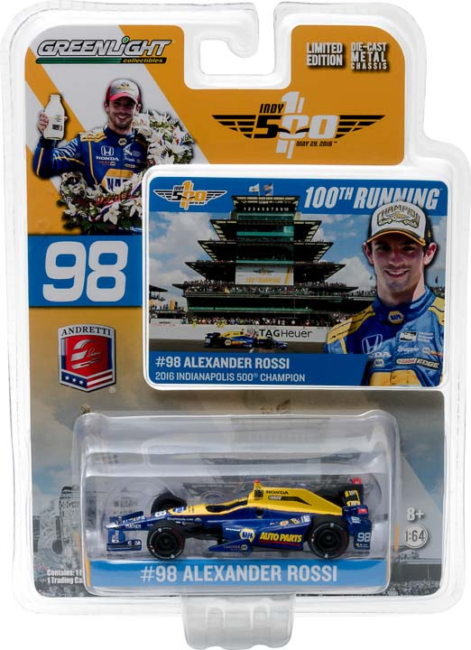 10767 - 1:64 2016 #98 Alexander Rossi / Andretti Herta Autosport with Curb Agajanian, NAPA Auto Parts / 2016 - 2016 #98 Alexander Rossi / Andretti Herta Autosport