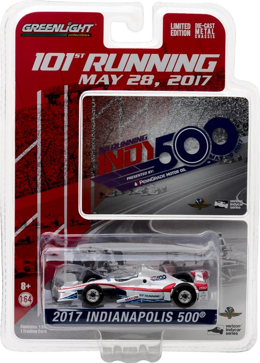 1:64 2017 101st Running of the Indianapolis 500 Event Car