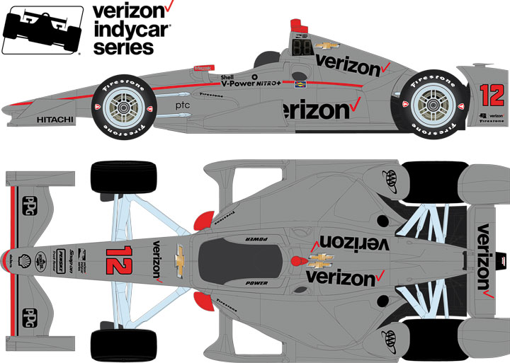 10772 - 1:64 2017 #12 Will Power / Penske Racing, Verizon