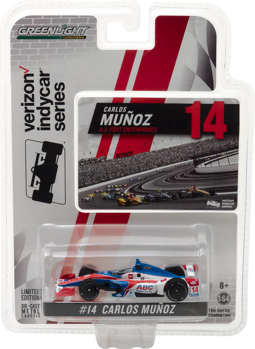 1:64 2017 #14 Carlos Munoz / A. J. Foyt Enterprises, ABC Supply