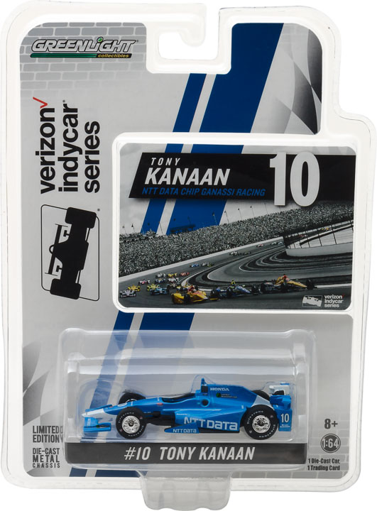 1:64 2017 #10 Tony Kanaan / Chip Ganassi Racing, NTT DATA