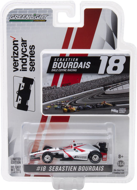 1:64 2017 #18 Sebastien Bourdais / Dale Coyne Racing