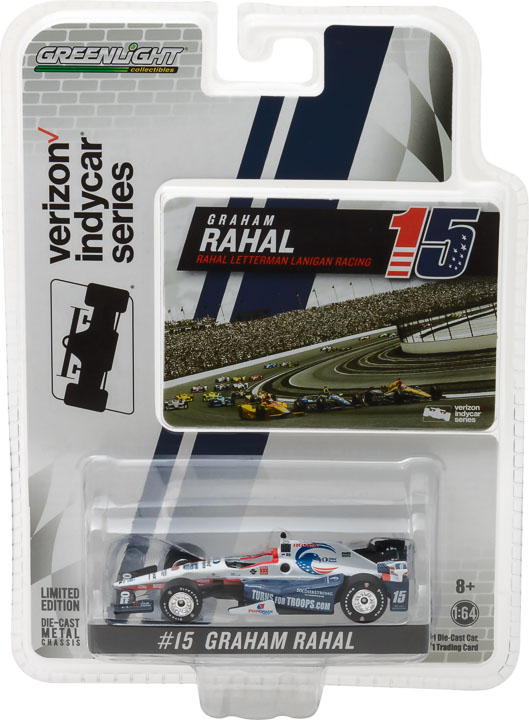1:64 2017 #15 Graham Rahal / Rahal Letterman Lanigan Racing, United Rentasl SoldierStrong