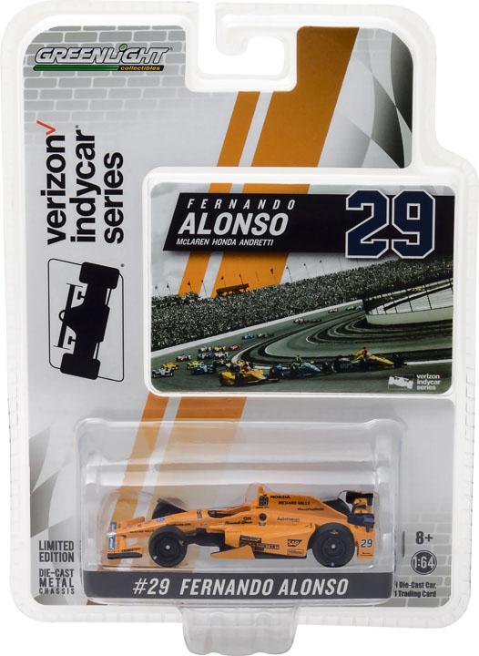 1:64 2017 #29 Fernando Alonso / McLaren-Honda-Andretti