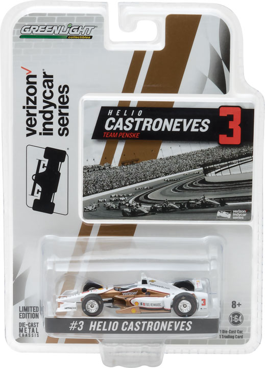 1:64 2017 #3 Helio Castroneves / Penske Racing, Shell Fuel Rewards