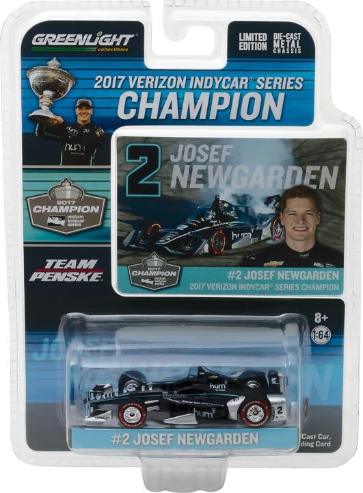 10799 - 1:64 2017 #2 Josef Newgarden - 2017 Verizon IndyCar Series Champion / Penske Racing, Hum by Verizon