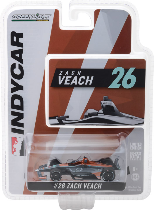 10802 - 1:64 2018 #26 Zach Veach / Andretti Autosport, Group One Thousand One