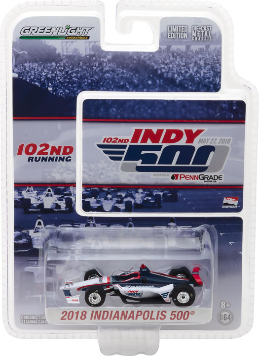 1:64 2018 102nd Running of the Indianapolis 500 Event Car