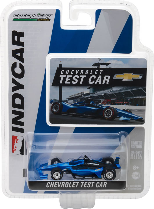 10811 - 1:64 2018 Chevrolet Dallara Universal Aero Kit Test IndyCar
