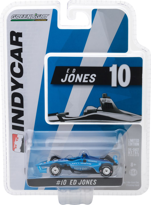 10818 - 1:64 2018 #10 Ed Jones / Chip Ganassi Racing, NTT Data