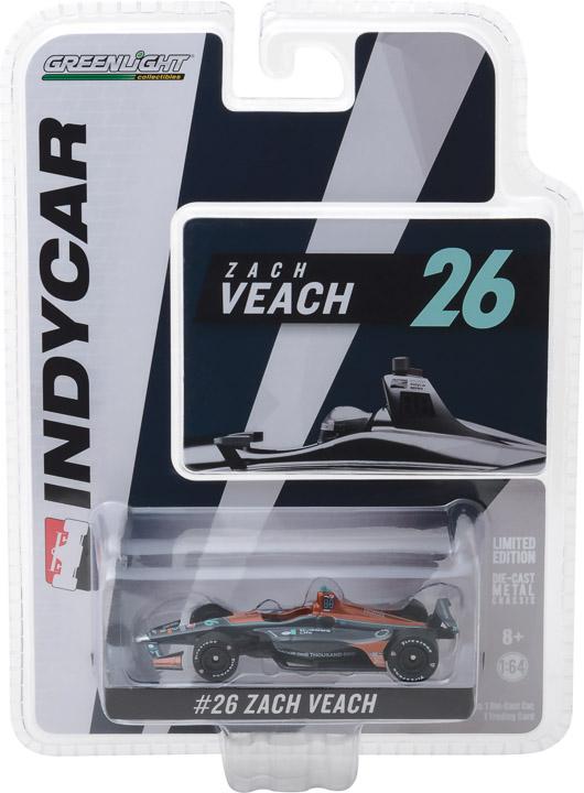 10820 - 1:64 2018 #26 Zach Veach / Andretti Autosport, Delaware Life