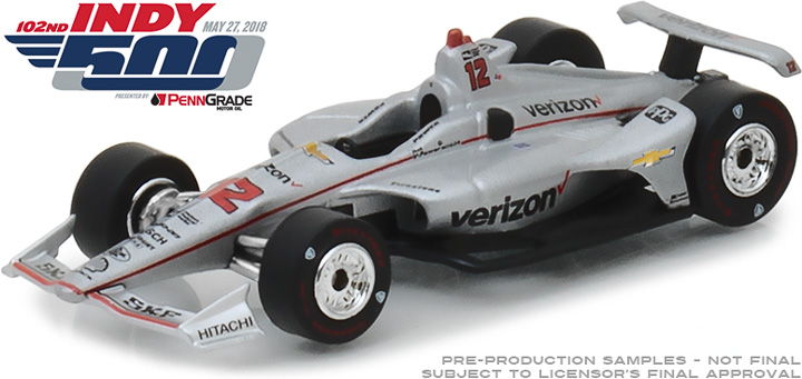 10825 - 1:64 #12 Will Power - Verizon - 2018 Indy 500 Champion