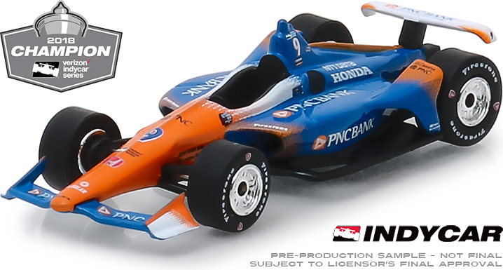 10835 - 1:64 2018 #9 Scott Dixon - 2018 Verizon IndyCar Series Champion / Chip Ganassi Racing, PNC Bank