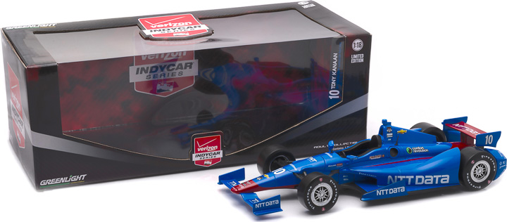 10962 - 1:18 2015 #10 Tony Kanaan / Chip Ganassi Racing, NTT DATA - 2015 #10 Tony Kanaan / Chip Ganassi Racing, NTT DATA