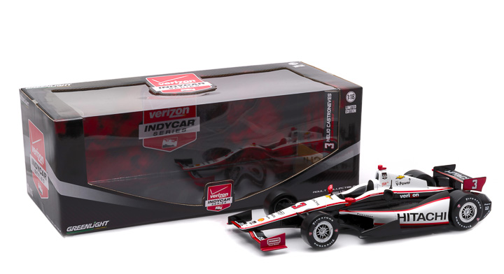 10964 - 1:18 2015 #3 Helio Castroneves / Penske Racing, Hitachi - 2015 #3 Helio Castroneves / Penske Racing, Hitachi
