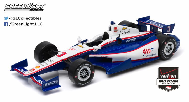 10965 - 1:18 2015 #3 Helio Castroneves / Penske Racing, AAA - 2015 #3 Helio Castroneves / Penske Racing, AAA