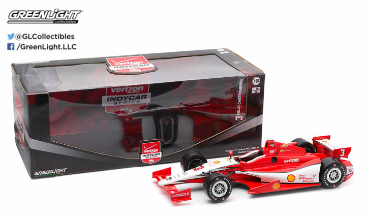 10966 - 1:18 2015 #3 Helio Castroneves / Penske Racing, Shell - 2015 #3 Helio Castroneves / Penske Racing, Shell