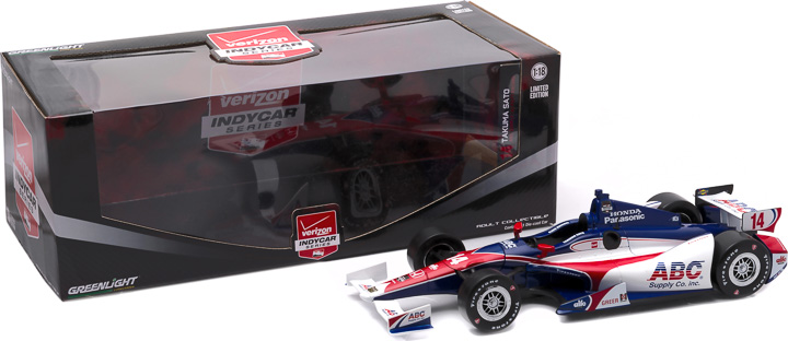 10968 - 1:18 2015 #14 Takuma Sato / A.J. Foyt Enterprises, ABC Supply - 2015 #14 Takuma Sato / A.J. Foyt Enterprises, ABC Supply