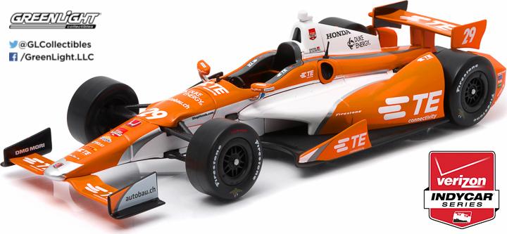 10975 - 1:18 2015 #29 Simona de Silvestro / Andretti Autosport, TE Connectivity - 2015 #29 Simona de Silvestro / Andretti Autosport, TE Connectivity