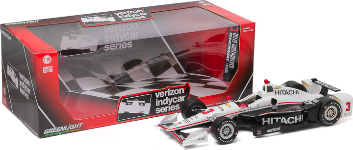 10978 - 1:18 2016 #3 Helio Castroneves / Penske Racing, Hitachi (New IndyCar Tooling) - 2016 #3 Helio Castroneves / Penske Racing, Hitachi (New IndyCar Tooling)