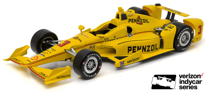 10979 - 1:18 2016 #3 Helio Castroneves / Penske Racing, Pennzoil (New IndyCar Tooling) - 2016 #3 Helio Castroneves / Penske Racing, Pennzoil (New IndyCar Tooling)
