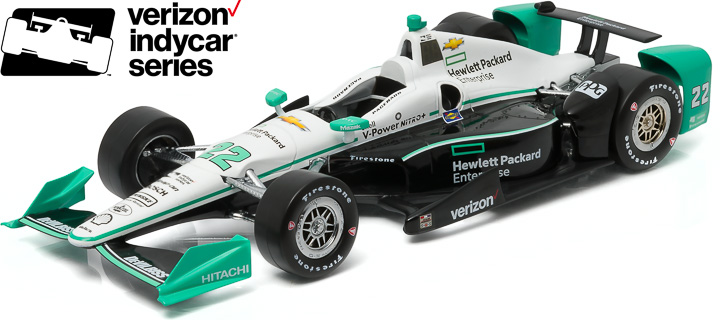 10980 - 1:18 2016 #22 Simon Pagenaud / Penske Racing, Hewlett-Packard (New IndyCar Tooling) - 2016 #22 Simon Pagenaud / Penske Racing, Hewlett-Packard (New IndyCar Tooling)
