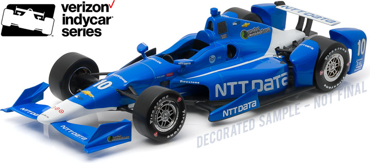 10985 - 1:18 2016 #10 Tony Kanaan / Chip Ganassi Racing, NTT DATA - 2016 #10 Tony Kanaan / Chip Ganassi Racing, NTT DATA