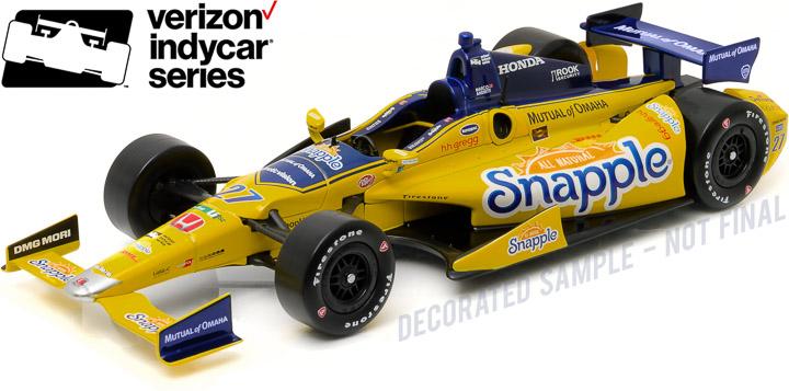 10988 - 1:18 2016 #27 Marco Andretti / Andretti Autosport, Snapple - 2016 #27 Marco Andretti / Andretti Autosport, Snapple