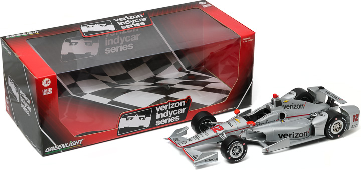 10991 - 1:18 2016 #12 Will Power / Penske Racing, Verizon - 2016 #12 Will Power / Penske Racing, Verizon
