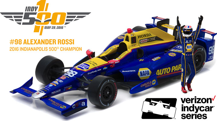 10992-B - 1:18 2016 #98 Alexander Rossi / Andretti Herta Autosport with Curb Agajanian, NAPA Auto Parts / 2016 - 2016 #98 Alexander Rossi / Andretti Herta Autosport