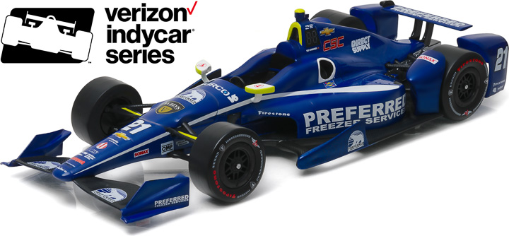 10995 - 1:18 2016 #21 Josef Newgarden / Ed Carpenter Racing, Preferred Freezer - 2016 #21 Josef Newgarden / Ed Carpenter Racing, Preferred Freezer