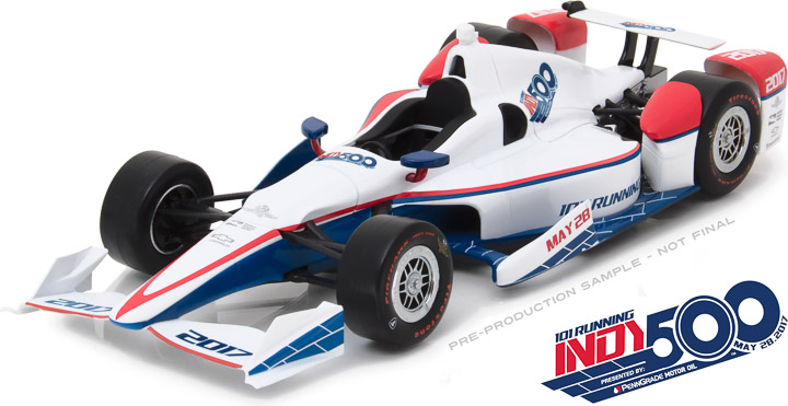 10998 - 1:18 2017 101st Running of the Indianapolis 500 Event Car