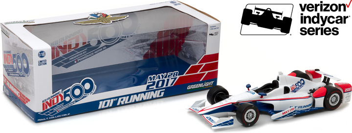 1:18 2017 101st Running of the Indianapolis 500 Event Car