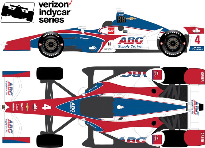 11008 - 1:18 2017 #4 Conor Daly / A. J. Foyt Enterprises, ABC Supply