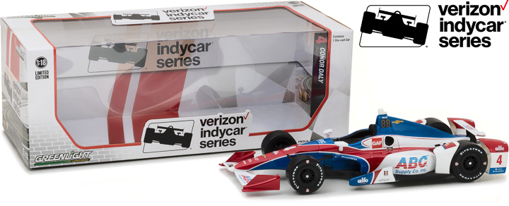 1:18 2017 #4 Conor Daly / A. J. Foyt Enterprises, ABC Supply