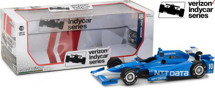 1:18 2017 #10 Tony Kanaan / Chip Ganassi Racing, NTT DATA