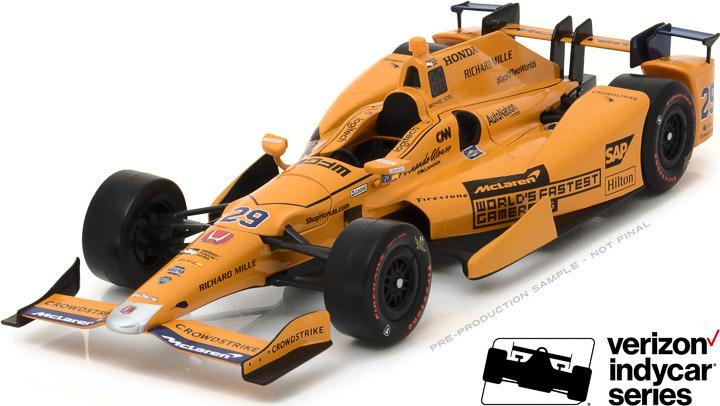 1:18 2017 #29 Fernando Alonso / McLaren-Honda-Andretti